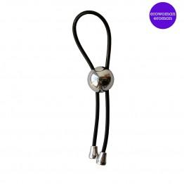 Кольцо эрекционное ЛАССО цвет чёрный арт. EE-10179-1