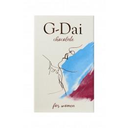 Возбуждающий шоколад для женщин/мужчин G-Dai, 15 гр