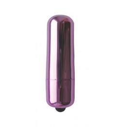 ВИБРАТОР МИНИ ПУЛЯ цвет фиолетовый L 55 мм D 17 мм  арт. EE-10185