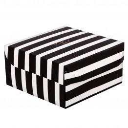 Коробка из картона Монохром, 17 × 9 × 17 см