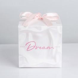 Коробка складная Dream, 12 × 12 × 12 см