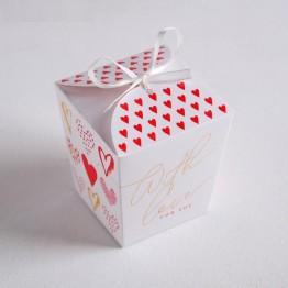 Бонбоньерка With love, 7,5 × 8 × 7,5 см