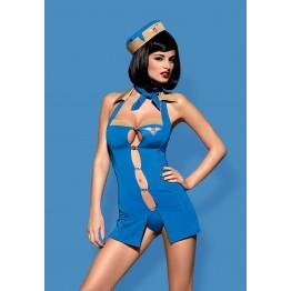 Костюм Air hostess (L\XL, синий)