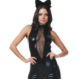 Костюм Чёрная кошка (ML)