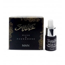 Духи с феромонами Sexy Life мужские, Musk and Pheromone 5 мл