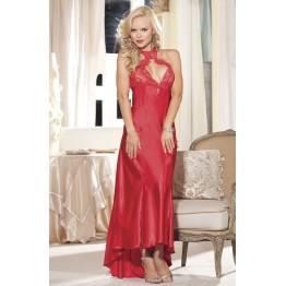 Элегантное длинное платье Shirley of Hollywood красное XL