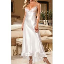 Элегантное длинное платье Shirley of Hollywood белое S