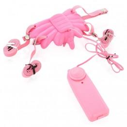 Вибробабочка розовая 884001-3