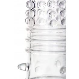 Насадка на пенис TOYFA A-Toys  , TPR, Прозрачный, 14,7 см