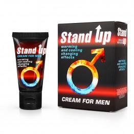 КРЕМ STAND UP для мужчин возбуждающий 25 г. арт. LB-80006