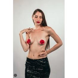 Пэстисы Burlesque Blaze Red 3637-02lola