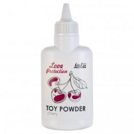 Пудра для игрушек ароматизированная Love Protection Вишня 15гр 1821-00Lola